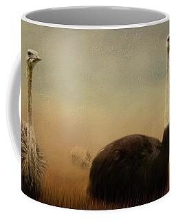 Ostrich Couple Coffee Mug