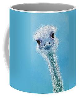 Ostrich Painting Coffee Mug