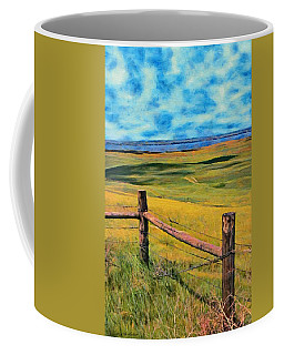 Other Side Of The Fence Coffee Mug by Jeff Kolker
