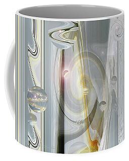 Otherworldly Iris - Original Art - Photograph Manipulation Coffee Mug