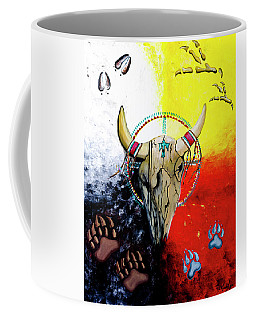 Ottawa Medicine Wheel Coffee Mug