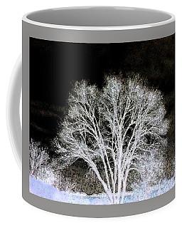 Coffee Mug featuring the digital art Ottawa Tree Silhouette by Ellen Barron O'Reilly