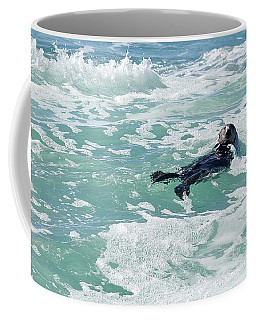 Otter At Montana De Oro Coffee Mug