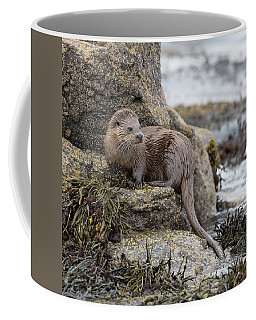 Otter Beside Loch Coffee Mug
