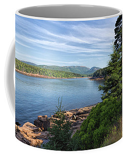 Coffee Mug featuring the photograph Otter Cove by John M Bailey