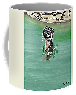 Otter In Amazon River Coffee Mug