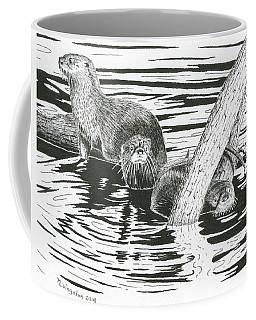 Otters Three Coffee Mug