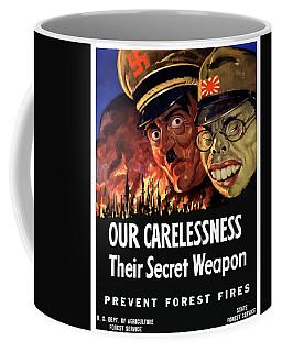 Our Carelessness - Their Secret Weapon Coffee Mug