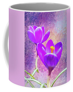 Our First Crocuses This Spring Coffee Mug