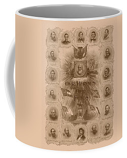 Our Heroes And Our Flags Coffee Mug