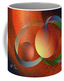Coffee Mug featuring the digital art Our Opinions by Leo Symon