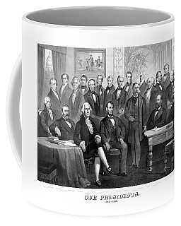 Our Presidents 1789-1881 Coffee Mug