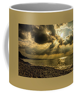 Coffee Mug featuring the photograph Our Star by Nick Bywater