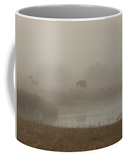 Out In The Fog Coffee Mug
