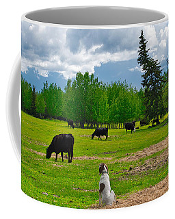 Out In The Pasture Coffee Mug