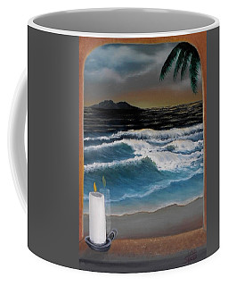 Out My Window-ocean Sunset Coffee Mug