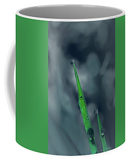 Coffee Mug featuring the photograph Out Of The Blue by Gene Garnace