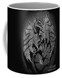 Coffee Mug featuring the digital art Out Of The Shadows by Stanley Morrison