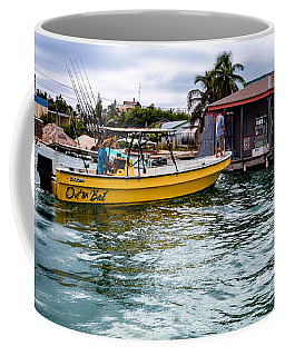 Coffee Mug featuring the photograph Out On Bail by Lawrence Burry