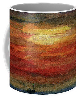 Out On The Grand Banks Coffee Mug by R Kyllo