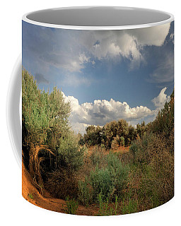 Coffee Mug featuring the photograph Out On The Mesa 4 by Ron Cline