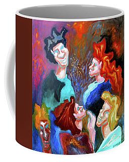 Out On The Town Coffee Mug by Genevieve Esson