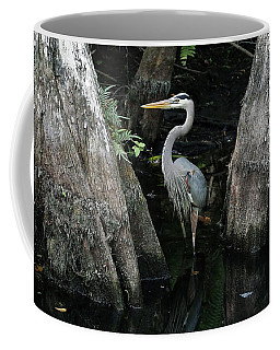 Out Standing In The Swamp Coffee Mug by Lamarre Labadie