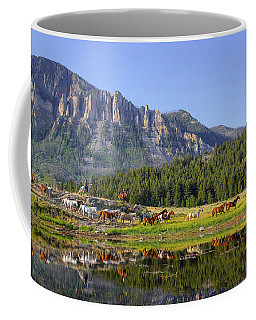Coffee Mug featuring the photograph Out West by Jack Bell