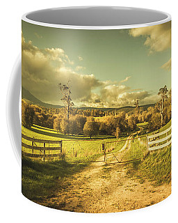 Outback Country Paddock Coffee Mug