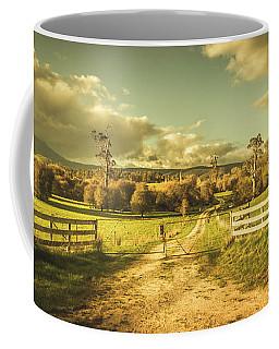 Outback Country Paddock Coffee Mug