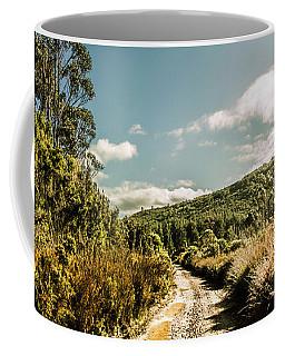Outback Country Road Panorama Coffee Mug