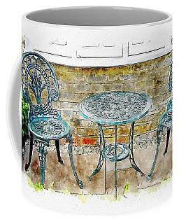 Outdoor Dining Coffee Mug