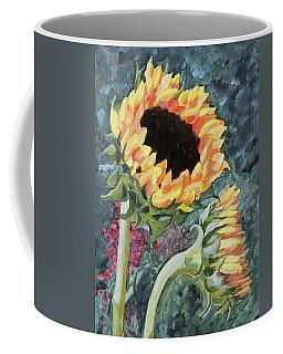 Outdoor Sunflowers Coffee Mug