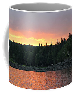 Outdoors In Norway.  Coffee Mug