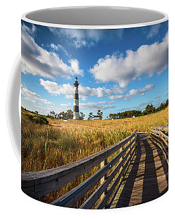 Outer Banks Nc Bodie Island Lighthouse Scenic Landscape Coffee Mug