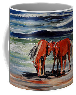 Outer Banks Wild Horses Coffee Mug