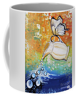 Outpouring Coffee Mug