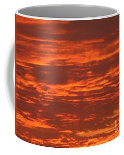 Coffee Mug featuring the photograph Outrageous Orange Sunrise by Rockin Docks Deluxephotos
