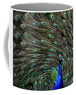 Outrageous Peacock Coffee Mug