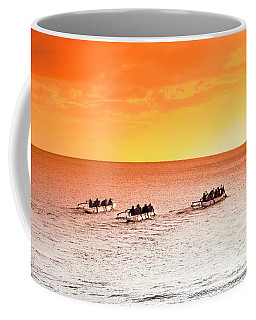 Outrigger Pastels Coffee Mug