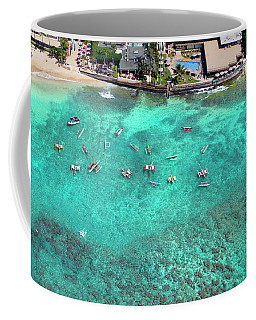 Outriggers At The Outrigger Coffee Mug