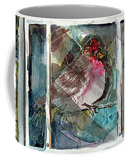 Outside Icy Inside Winter Coffee Mug by Mindy Newman