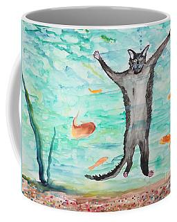 Outside The Fish Tank Coffee Mug
