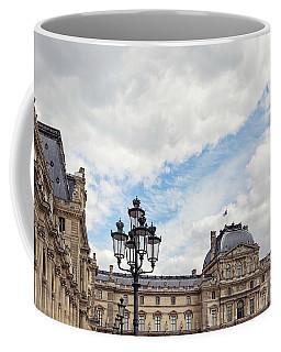 Outside The Louvre - Paris, France Coffee Mug