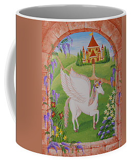 Outside The Window Coffee Mug