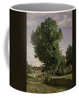 Outskirts Of A Village Near Beauvais Coffee Mug