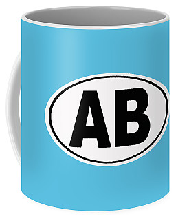 Coffee Mug featuring the photograph Oval Ab Atlantic Beach Florida Home Pride by Keith Webber Jr