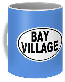 Coffee Mug featuring the photograph Oval Bay Village Ohio Home Pride by Keith Webber Jr