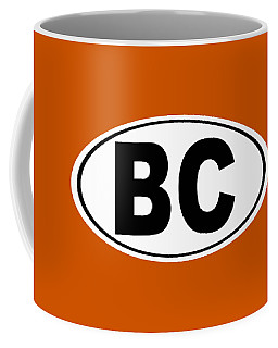 Coffee Mug featuring the photograph Oval Bc Boulder City Colorado Home Pride by Keith Webber Jr