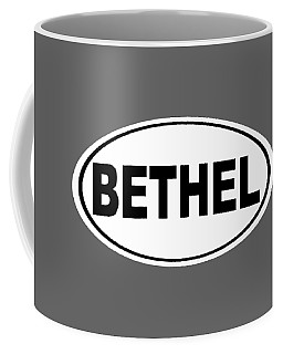 Coffee Mug featuring the photograph Oval Bethel Connecticut Home Prid by Keith Webber Jr